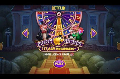 รีวิวสล็อต BETFLIK เกม NetEnt | Piggy Riches